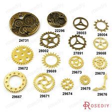 Alloy Watch Movements Gear Wheel Charms Pendants Jewelry Accessories 22296