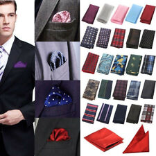 Fashion Mens Silk Pocket Square Hankie Handkerchief Wedding Party Hanky US Stock