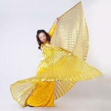 Egyptian Egypt Belly Dance Wear Costume SHINING ISIS Wings (NO STICKS) 5 Colors