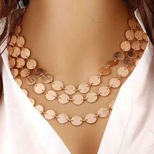 Chunky Charm Fashion Jewelry Chain Pendant Choker Statement Bib Necklace CHI