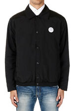 KENZO Man Reversible Black Printed Windcheater Jacket New with Tags and Original