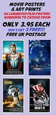 Movie Poster Collection 4:Laminated:A4:!!!!!!Buy 2 Get 3 FREE!!!!!!
