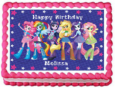 EQUESTRIA GIRLS Image Edible Cake topper decoration