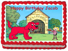 CLIFFORD Birthday Image Edible Cake topper decoration
