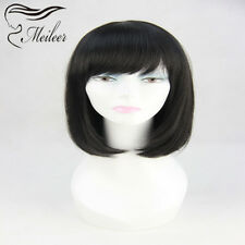 "New style 12"" synthetic hair Straight Wave full lace wigs /lace front wigs YS-5"