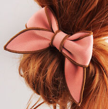 Hair Rope Ponytail Scrunchie Hair Accessories Satin Ribbon Hairband Holder Bow