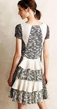 NEW Anthropologie Vanessa Virginia Ruffle-Back Sweater Dress  Size M