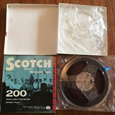 Scotch Magnetic Reel to Reel Tapes - Empty Boxed Reel & Reel with Tape (Blank??)