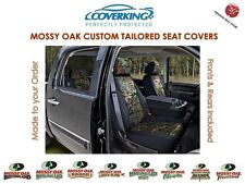 Coverking Neosupreme Mossy Oak Front & Rear Camo Seat Covers for Chevy Tahoe