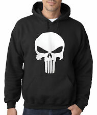 New Way 216 - Hoodie Hooded Sweatshirt The Punisher Skull