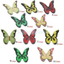 Butterfly Closet Drawer Cabinet Shoebox Door Handle Knob Pull Hardware 5 Color