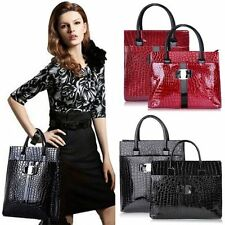 Women's Fashion Europe Luxury OL Ladies Animal Pattern Handbag Tote Shoulder Bag