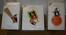 2012 HALLMARK CHRISTMAS ORNAMENTS PERSONALIZE UR OWN ORNAMENT STICKERS INCLUDED