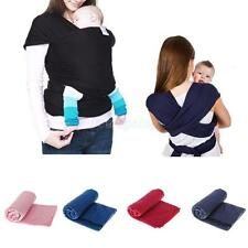 Ergonomic Newborn Baby Sling Stretchy Wrap Carrier Infant Breastfeeding Backpack