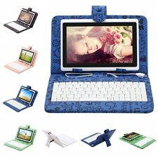 "iRULU 7"" Android 4.4 Quad Core Tablet PC Dual Cam 8GB/16GB Touch Pad w/ Keyboard"