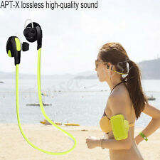 Wireless Bluetooth Headset Handfree Bass Stereo Headphone Earphone Universal Lot