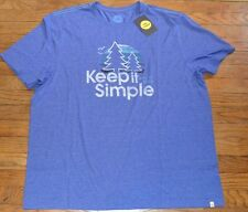 Life is Good T-Shirt KEEP IT SIMPLE Authentic Tee Men's Shirt MSRP $30.00