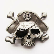 Men Belt Buckle Pirate Skull Belt Buckle Gurtelschnalle Boucle de ceinture