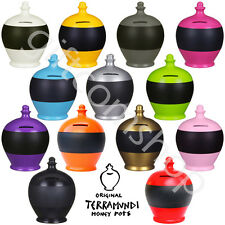 Terramundi Chalkboard Money Pots Personalise Your Savings Blackboard Piggybank