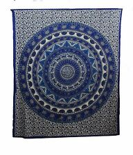 Indian Cotton Full Queen California King Size Bed Sheet tapestry Animal Print