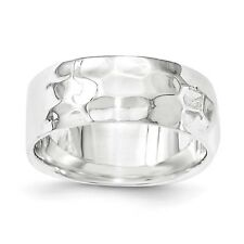 Sterling Silver Polished Ring 5.68 gr Size 6 to 8