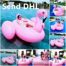 Giant Pink Flamingo Float Swimming Adult Child Swim Ring Rafts Play Toy Sunmmer