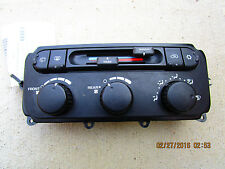 01 - 06 TOWN & COUNTRY TOURING LX 3.3L V6 A/C HEATER CLIMATE CONTROL 05134627AA