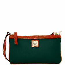 Dooney & Bourke Pebble Grain Large Slim Wristlet