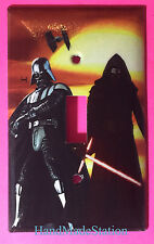 Star Wars Darth Vader kylo Ren Light Switch Power Outlet Cover Plate Home decor