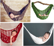 Newborn Baby Hammock/Slings Cocoon Crochet Knit Photography Photo Prop