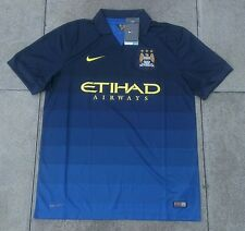 Nike Manchester City Away Shirt Authentic Brand New Football Soccer Mens Size L