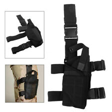 Tactical Adjustable Nylon Pistol Gun Drop Leg Thigh Holster Pouch Holder Airsoft
