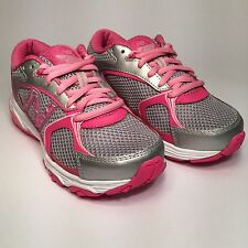 NEW BALANCE  Girl's Sneaker KJ635KMY (Pink/Silver) NIB for Little and Big Kids
