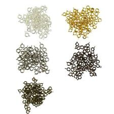 50pcs Wholesale Spring Clasp with Open Jump Ring Jewelry Making Findings DIY