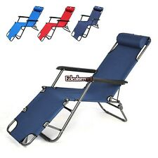 New Outdoor Lounge Chair Zero Gravity Folding Recliner Patio Pool Lounger ES88