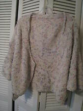 unique hand-crafted one-of-a-kind sweater OSFA, beautiful