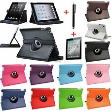360 Rotating Leather Smart Stand Case Cover for Apple iPad2/3/4 Air1/2 Mini1/2/3