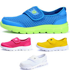 Boys Girls Mesh Sneakers Breathable Casual Beach&Sport Shoes Velcro Running Kids
