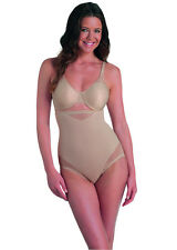 Miraclesuit Sexy Sheer hi-waist shaping brief, 2785, Blk/Nde, VARIOUS SIZES