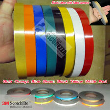 3M™ Scotchlite 580 Reflective Motorcycle Bike Wheels Stripes Rim Tape 7mm x 6M !