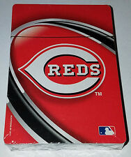 OFFICIAL MLB CINNICINATI REDS HUNTER PLAYING CARDS W/ MLB HOLOGRAM NICE SEALED