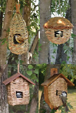 Reed Grass Roosting Pocket Bird House Nest Shelter 4 Style Choices Eco-friendly