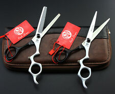 "6.0"" Professional Hair dressing Scissors Cutting&Thinning Styling Shears k609"