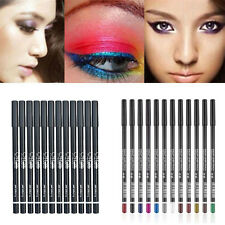 12Pcs/Set Glitter Lip liner Eye Shadow Eyeliner Pencil Pen Makeup Cosmetic Tools