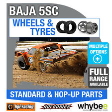 HPI BAJA 5SC [Wheels & Tyres] Genuine HPi 1/5 R/C Standard / Hop-Up Parts