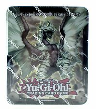 Yu-Gi-Oh Tempest Dragon Ruler of Storms Collectors Tin 2013 Trading Card Game