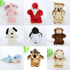 Animals Coloful Plush Hand Puppet Baby Kids Gift Free Shipping