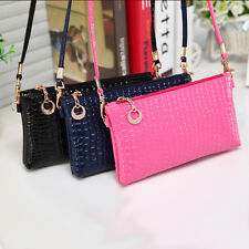 Hot Sale Ladies Multicolor Leather Zip Purse Wallet Woman Hand Bag Womens Card