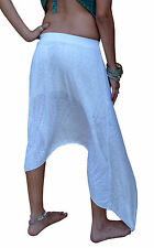 Gypsy Skirt long  maxi designer evening wear jazz club Tribal Pixie Sized Sheer