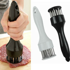 Profession Meat Meat Tenderizer Needle With Stainless Steel Kitchen Tools LJ